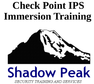 Check Point IPS Immersion Training Video Series